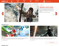 Gamer-zone design interface