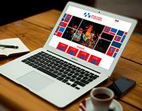 Diseño Sitio Web Festival Estudiantil de Teatro Bogotá