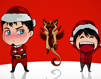 Merry Christmas and a Happy New Year! OwO