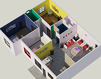 Interior Design & 3d Visualising