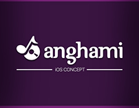 Anghami Mobile App Concept