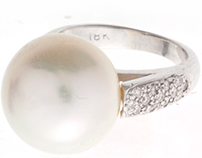 Custom Design : South Sea Pearl Ring