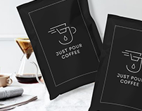 Logo Design: Just Pour Coffee