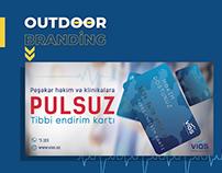 Outdoor Branding & Discount Card | Medical Assistance