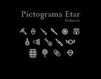 Pictograms Etar
