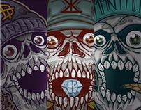 Three skulls @2013