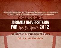 Jornada Universitaria por la mujeres 2012