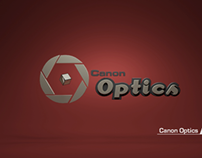 Canon Optics Branding