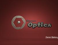 Canon Optics Branding