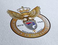 Emblem for crime police