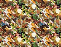 Food Pied-de-Poule Pattern - Alessa Summer 2010