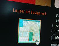 Lücker Art Design - online portfolio