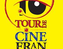 Cartel. Tour de cine frances.