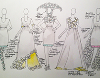 Silk Organza Dress Designs