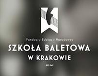Ballet School in Cracow - branding & identity