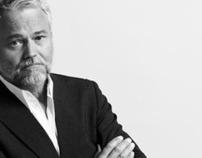 Portraits of Danish politician Carsten Koch