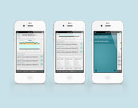 New Relic iOS/iPhone Client Interface
