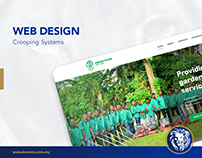 Web Design - Crooping Systems