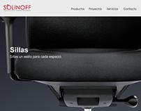 Webpage Solinoff