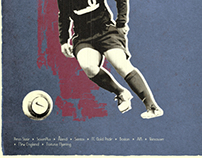 PSU Women's Soccer Poster Project