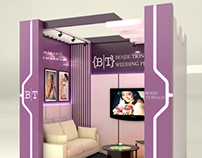 Benjie Tiongco's Bridal Fair Booth