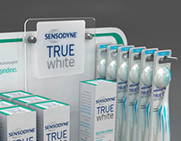Sensodyne True White Counter Display Unit