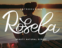 Rosela Script Font