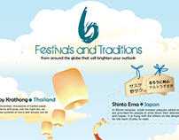 Infographic: Festivals & Traditions