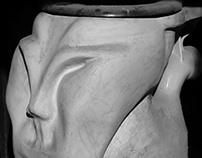 Sculpture toilet