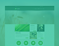LeaFox Multipurpose PSD Theme