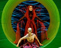 opera RUSALKA, costume design
