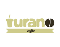 Turano Coffee Logo Design