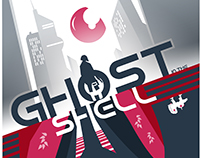 Ghost in the shell minimalist poster