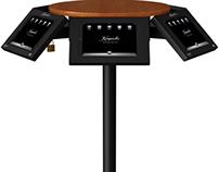 IPad Carousel table
