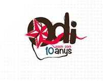 Prova intro 10 anys del grup Odi (2013)