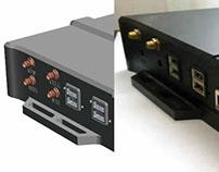 Case design. Manufacturing in aluminum. e-minds