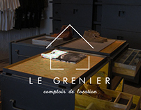 Le Grenier - Brand identity & Advertising