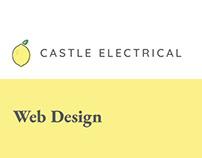 Castle Electrical Ltd Web Design