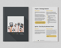 Clean & Modern Corporate Brochure Design