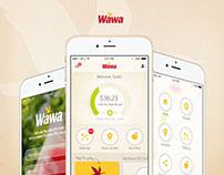 Wawa Rewards App