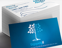 Uniquely U - Business Card & Gift Certificate