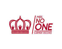 MRS NO ONE - Logodesign