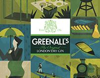 Greenalls Gin Poster