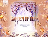 Garden of Eden, graphic illustrations