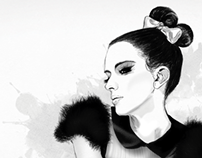 Illustration - Work based on Marianna ® Joanna Kustra