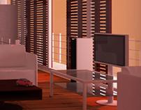 3D_Living Room Interior