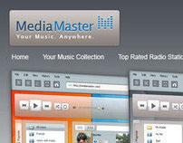 Mediamaster - Online Music Player