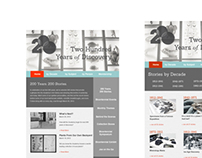 Web Design: Academy of Natural Sciences