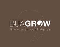 BUAGROW   Logo & Identity
