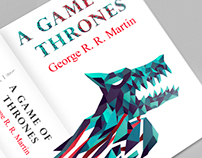 A Song Of Ice And Fire - Book Covers